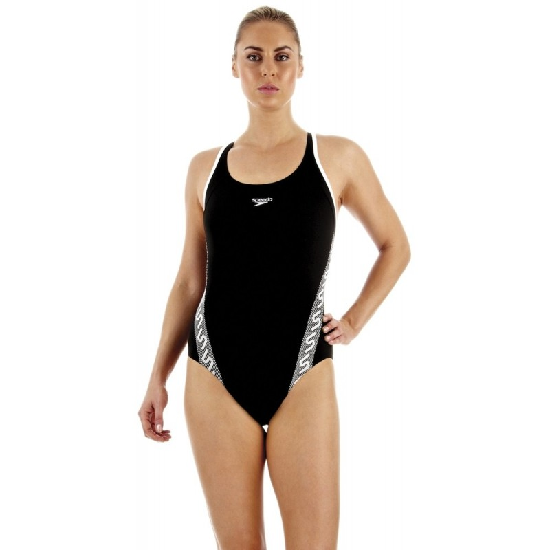 Speedo Womens Samba Blend One Piece Muscleback Swimming Swim Costume Swimsuit