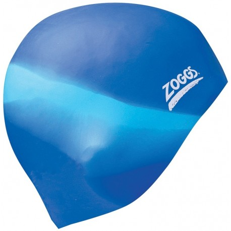 Zoggs Multi-Colour Silicone Cap Assorted PK 6
