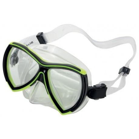 Divetech Ocean Mask - Black / Yellow
