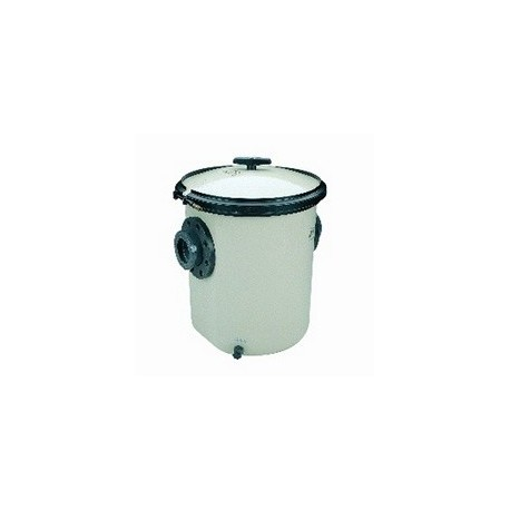 33 litres - Strainer in polyester and fibreglass