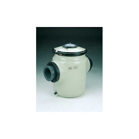 60 litres with sight glass lid - Strainer in polyester and fibreglass