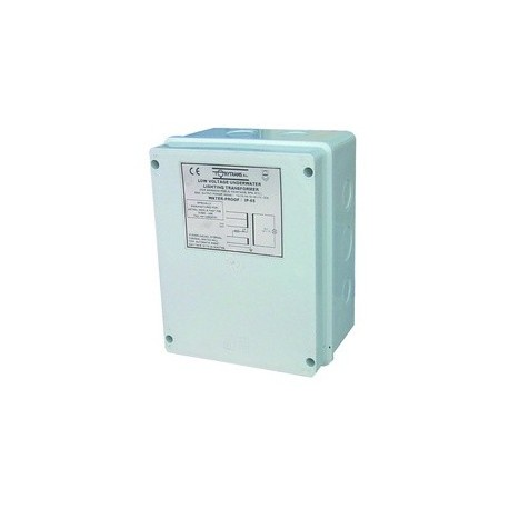 Encapsulated security transformer IP-65 for pool
