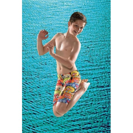 Maru Fraggle Pacer Jammer Boys Swim Shorts