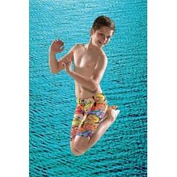 Maru Fraggle Pacer Jammer Boys Swim Shorts