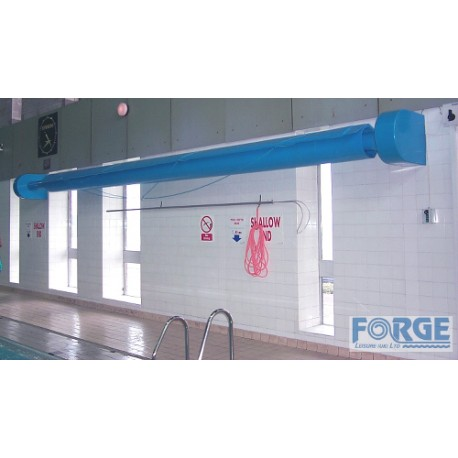 Remote Controlled Wall Mounted Pool Cover