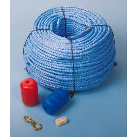 Blue Lane Line Rope