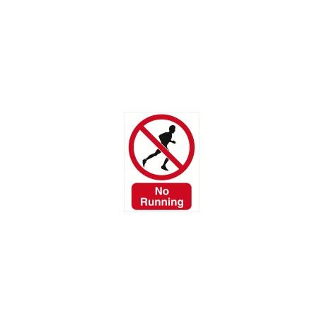 Sign - No Running