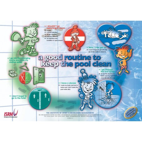 Routine To Keep Pool Clean Poster