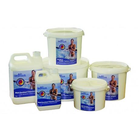 SWIMFRESH 10kg MULTI-FUNCTIONAL CHLORINE TABLETS